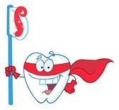 超级英雄牙的牙刷