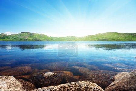 North mountain lake